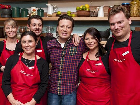 Jamie's Food Crusade reaches Geelong