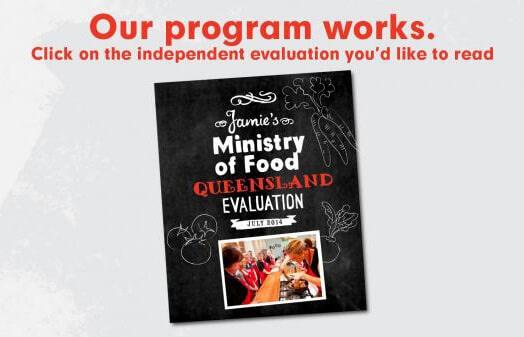 Jamie's Ministry of Food program