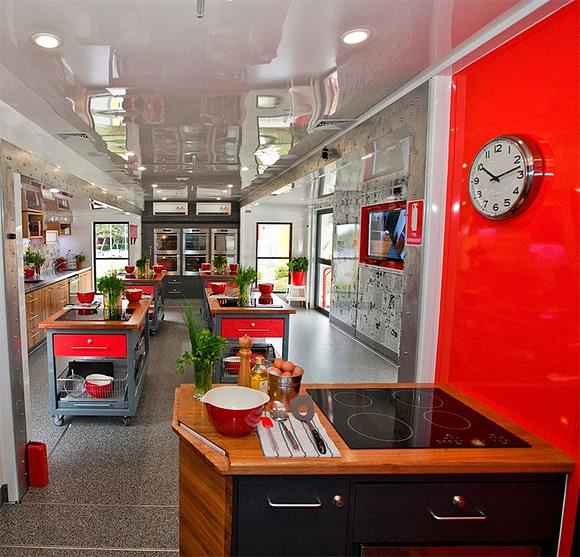 Jamie's Ministry of Food Australia's Mobile Kitchen