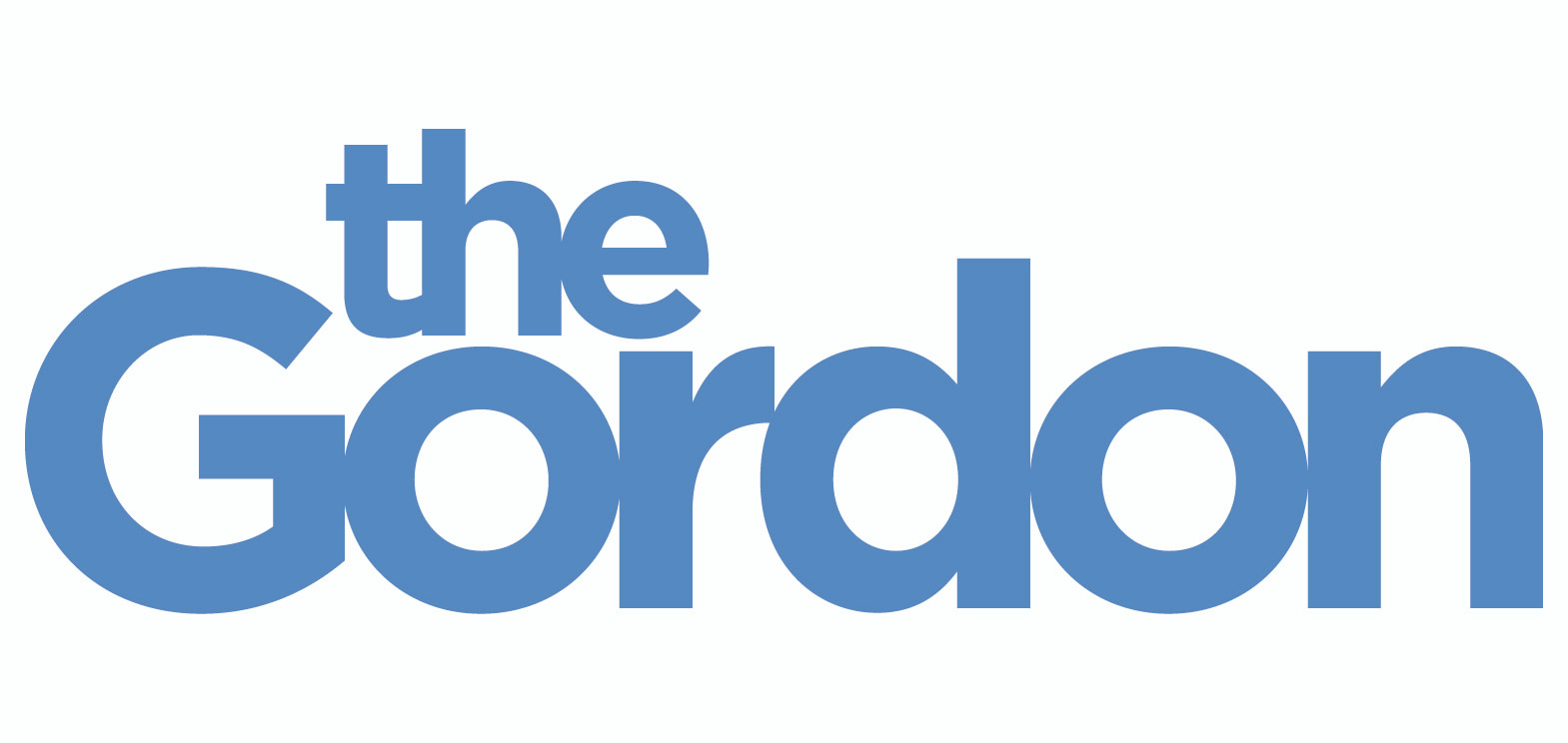 The Gordon Logotype CMYK